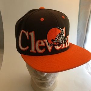 90s Reebok Spellout  Cleveland Browns SnapBack